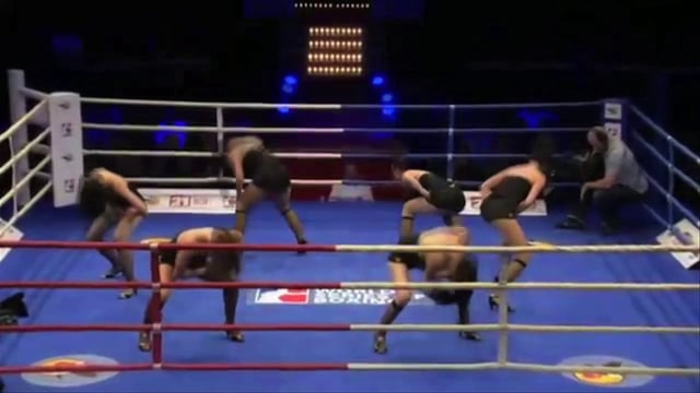 Video: Showtanz beim Profiboxen