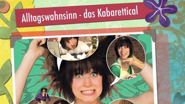 Video: Alltagswahnsinn-Das Kabarettical Trailer 2015