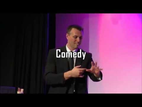 Video: Bühnenprogramm 2x45 Minuten  als Ein Mann in Schwarz