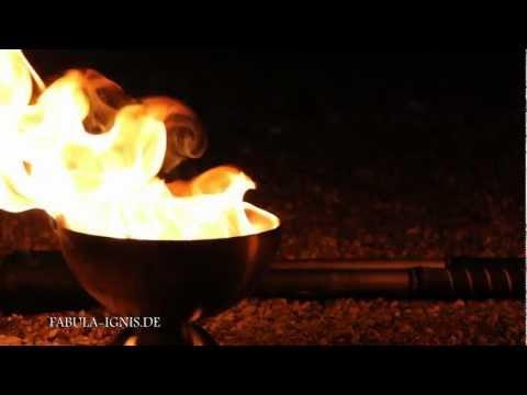 Video: Fabula Ignis - Feuershow, Pyrotechnik, Gaukelei