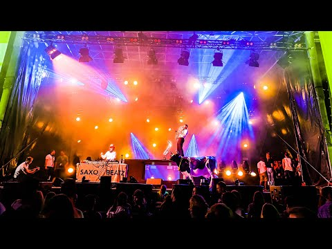 Video: DJ YURN*live* @ MUSIC DAYS Festival in München | DJ & Saxophon