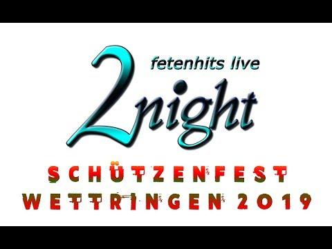 Video: Junggesellen-Schützenfest in Wettringen, Juni 2019 (mit Sängerin Luisa)
