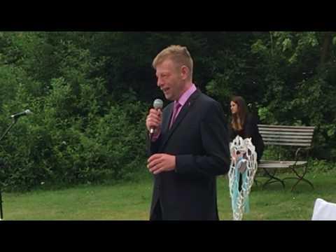 Video: Freie Trauung in der Dammühle bei Marburg