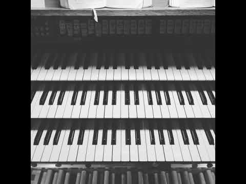 Video: Der einsame Hirte - Orgel Cover (Handyaufnahme)