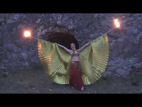 Video: Orientalische Feuershow