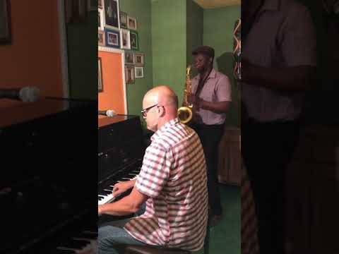 Video: Pianist Walter Heinke mit Saxophonist Ebenizer Pratt