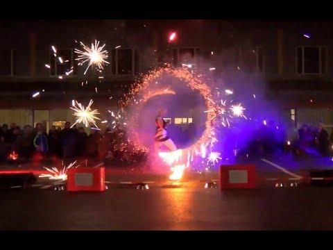 Video: Licht- und Feuershow Q7 (Duo)