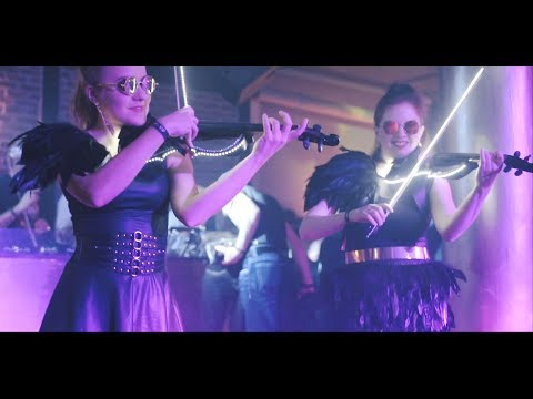 Video: LED Violin Show Laruan