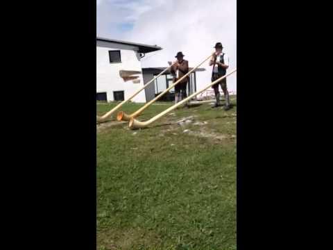 Video: Alphornsound vom Berg
