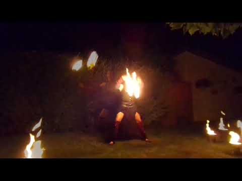 "Video: Solo-Feuertanzperformance ""Luminous Dance"""
