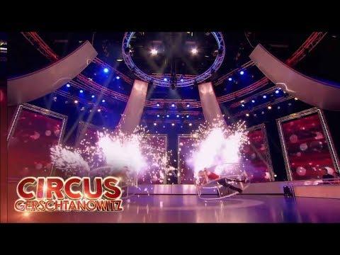 Video: Duo Rhönrad Show im TV -  Wheel Sensation