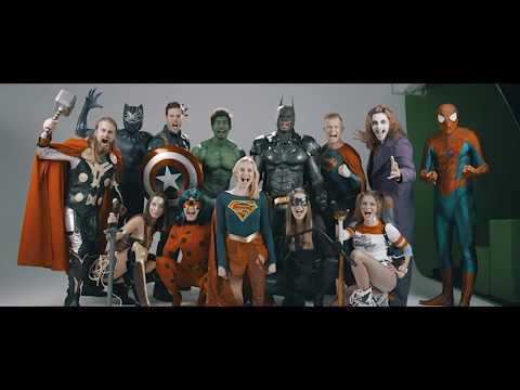 Video: Agentur der Superhelden Making of video