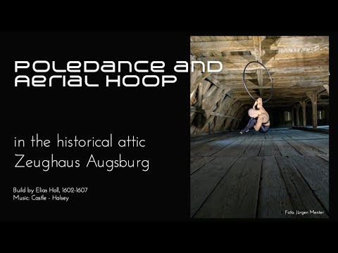 Video: Pole und Hoop in historischer Kulisse