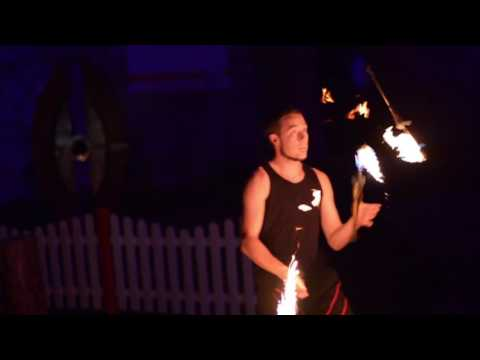 Video: Feuershow-Trailer Fabian Rieger