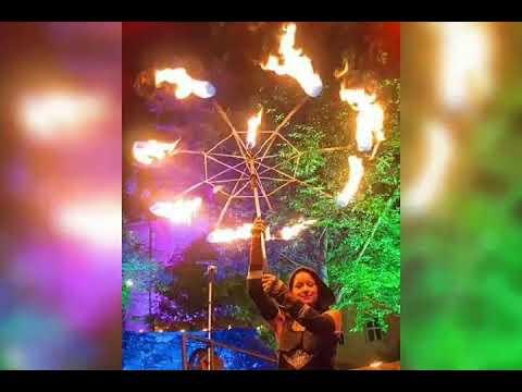 Video: Feuertanz