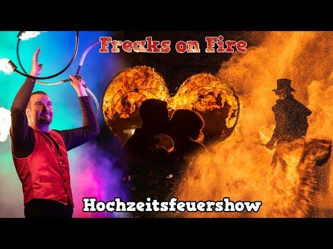 Video: Feuershow Hochzeit / Freaks on Fire Feuerkünstler