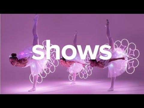 Video: SHOWREEL2021 | LED-Licht-Tanzshow