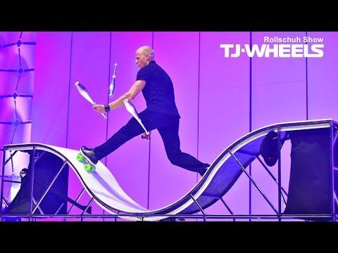 Video: TJ-WHEELS - Rollschuh Show