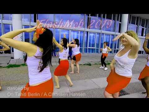 Video: Ta'ere Ma'ohi - International Ori Tahti Flashmob 2019 Flashmob by Mareva - Ori Tahiti Berlin