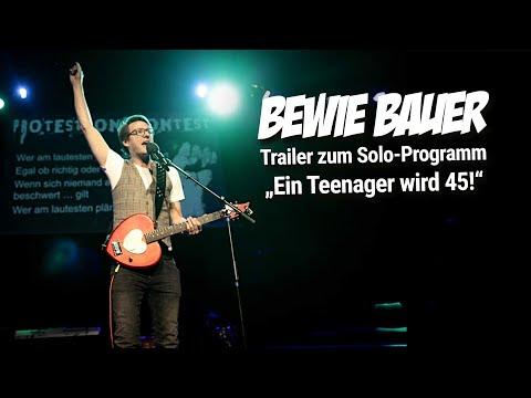 Video: Bewie Bauer - Ein Teenager wird 45 - Jetzt werd's g'wampert! [Trailer]