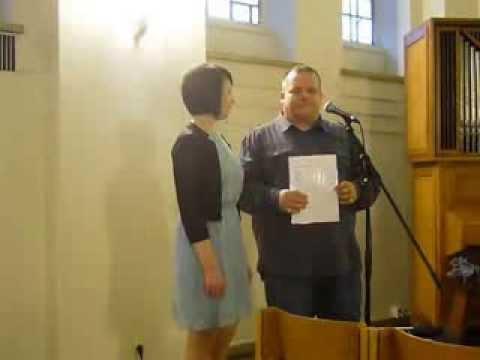 """Video: """"She´s like the wind"""" - gesungen bei einer kirchlichen Hochzeit"""