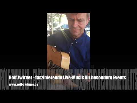 """Video: """"Feurige"""" Gitarren - virtuoser Alleinunterhalter für besondere Events, Hochzeit, Geburtstag, Firmenfeier u.v.m."""