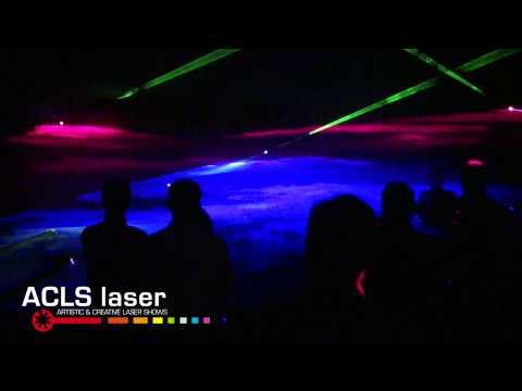Video: ACLS Lasershows, hier sehen Sie einen Zusammenschnitt meiner Arbeit als Lichtkünstler.