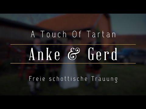 """Video: Freie Trauung mit Schottischem Handfasting Ritual und dem Duo """"Highland-Sound"""""""
