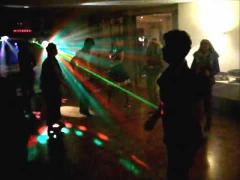 Video: Live Mitschnitt einer Geburtstagsfeier zur Präsentation der Lichteffekte der Mobilen Discothek.