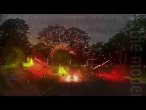 Video: Feuershow Chemnitz Leipzig Dresden - Feuerlichtshows
