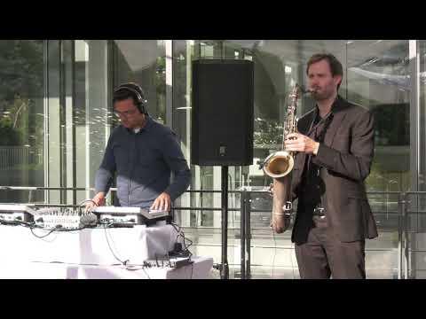 Video: Lounge Veranstaltung DJ+Saxofon Kombo