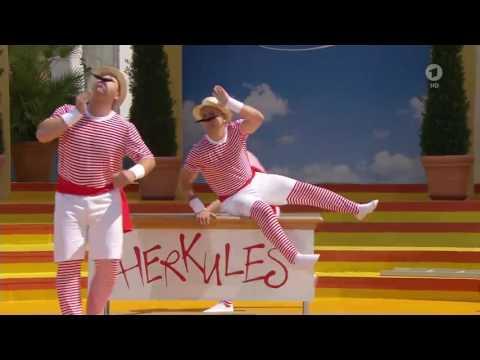 """Video: HERKULES - LIVE bei """"Immer wieder sonntags"""" auf ARD/SWR"""