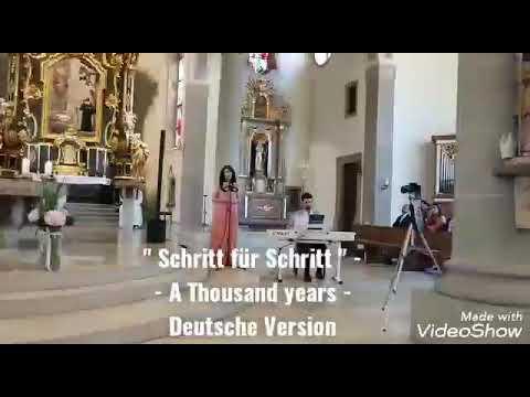 Video: A thousand years- Deutsche Hochzeitsversion im Duo mit Pianist Sandro Dalfovo