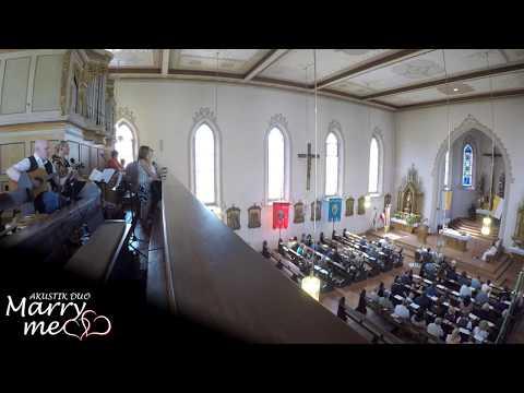 Video: Hallelujah deutsche Hochzeitsversion - Leonard Cohen/Jenny Daniels (Cover von MarryMe Akustik Duo)