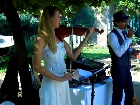 """Video: Der ItaloBarde, Geburtstagsparty mit einer Violinen-Performance im """"Duo"""""""