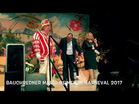 Video: Bauchredner Mario Reimer mit der Zuschauernummer