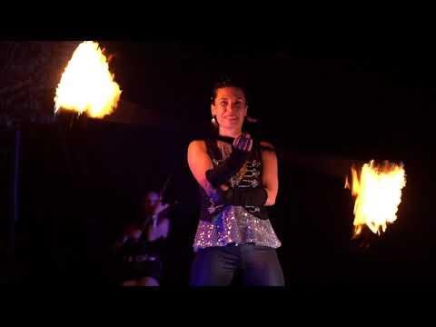 Video: Violinen-, Feuer- & Lichtshow von # Ma*Ke//Art aus Frankfurt/Main