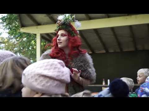 Video: Walking-Acts im Tierpark Neumünster