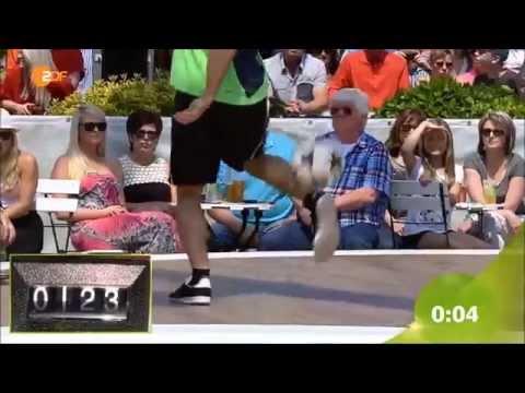 Video: Weltrekordversuch ZDF Fernsehgarten