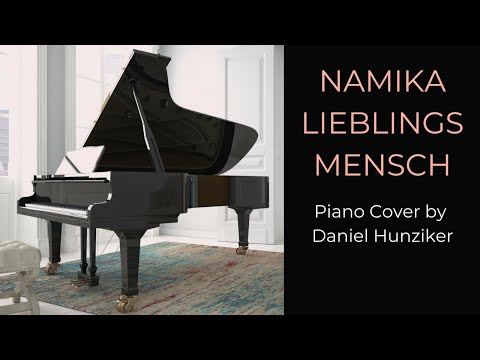 Video: Namika - Lieblingsmensch - Piano Cover - Instrumental