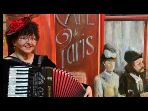 "Video: Valse Musette, Gisella, accordéon / Demoversion / Bühnenbild ""Café de Paris"""