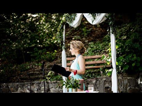 Video: Daria - Hochzeitsrednerin, Traurednerin, Freie Rednerin aus Hannover, Freie Trauung mit Livegesang