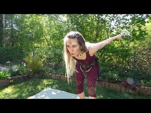 Video: Drachenshow - April 2020 (im Garten)