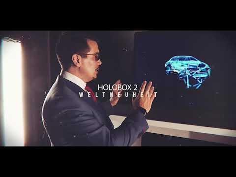 Video: Tony Stark Präsentationen mit der Weltweiten ersten mobilen Holobox