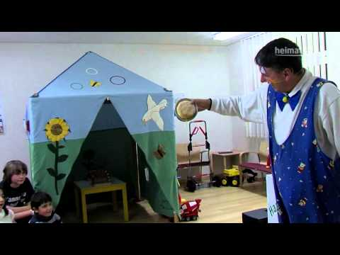 Video: Holger Blumentritt Portrait  als Clown (des Vereins Happy-Clowns e.V:)in der Kinderklinik Vechta