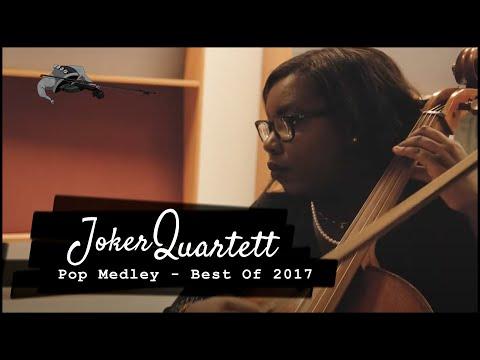 Video: Pop Medley | Tribute to Ed Sheeran, Selena Gomez, Jason Derulo | Joker String Quartet