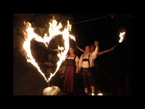 Video: Geburtstags-Feuershow