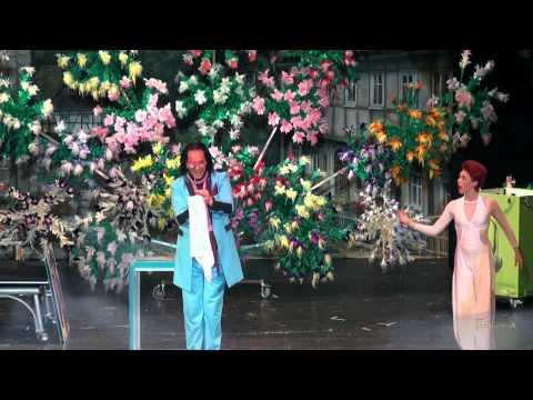 Video: Zaubergarten Fantropia Die Blumen- Magieshow mit ihren tausend Farben der Karibik, 13min Aufführung