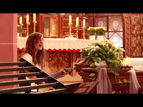 Video: Ich halt' deine Hand - Eva Croissant (eigener Song) in der Annakapelle Burrweiler 2018