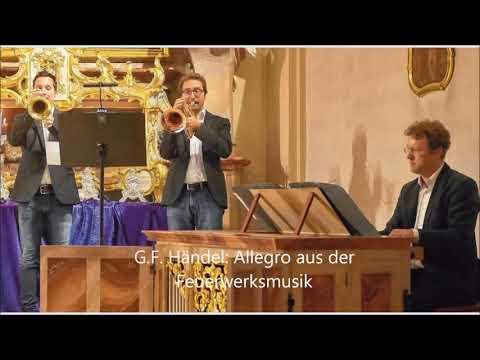 Video: Trio Toccata spielt Händel - Feuerwerksmusik